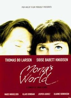 <i>Monas verden</i> 2001 film by Jonas Elmer