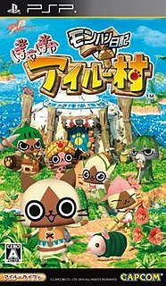 <i>Monster Hunter Diary: Poka Poka Airou Village</i> video game
