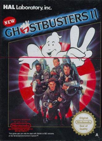 New Ghostbusters II - European cover art