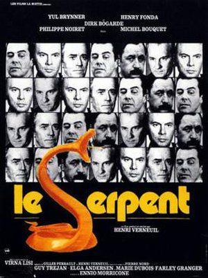 Night Flight from Moscow - Film poster under title Le Serpent