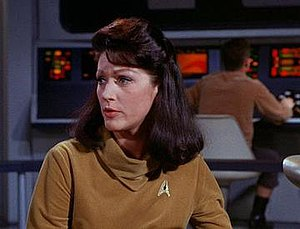 Number One (Star Trek) - Number One at the Helm
