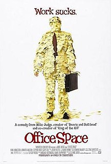 <i>Office Space</i> 1999 American comedy film