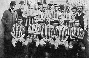 Oldham Athletic A.F.C. - Oldham Athletic in 1905