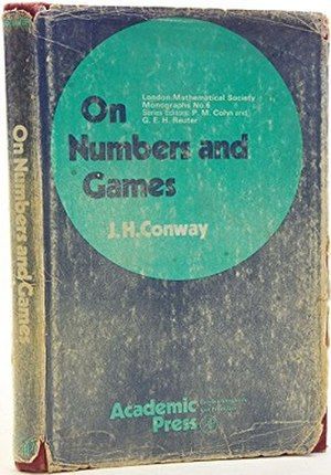 On Numbers and Games - Second edition cover