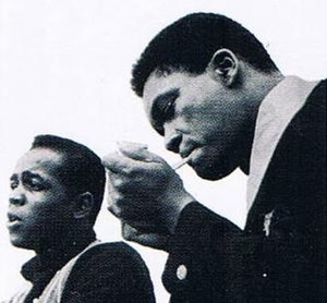 Onzy Matthews - Lou Rawls and Onzy Matthews in the early 1960s