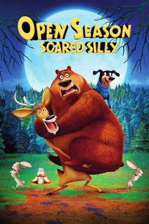 Open Season: Scared Silly - DVD cover