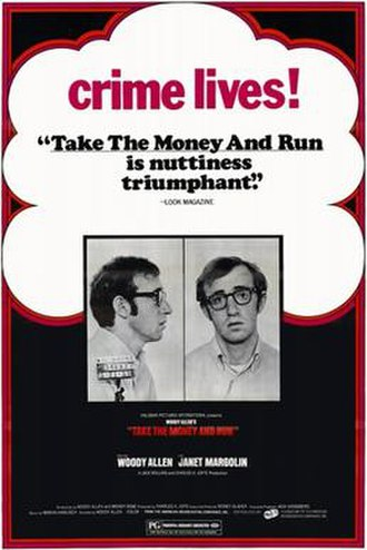 Take the Money and Run - Theatrical release poster