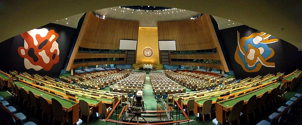 Panorama of the United Nations General Assembly, Oct 2012