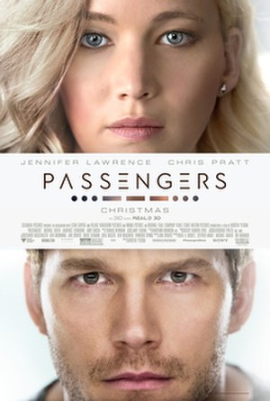 Passengers (2016 film) - Theatrical release poster