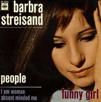 People (Barbra Streisand song) - Image: People 45