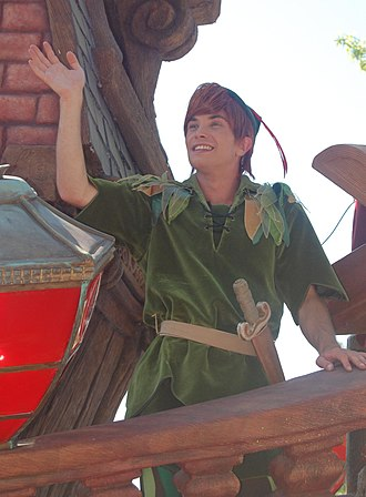 Peter Pan (1953 film) - Cast Member as Peter Pan in Disneyland Paris.