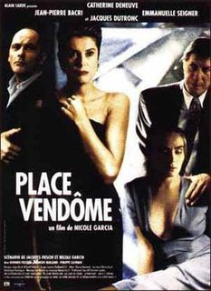 <i>Place Vendôme</i> (film) 1998 French film by Nicole Garcia
