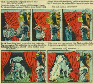 The Raven in popular culture - Image: Poe Elder Raven Mad 1954