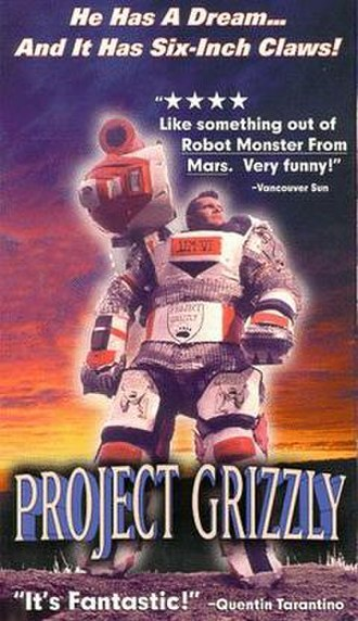 Project Grizzly (film) - Theatrical release poster