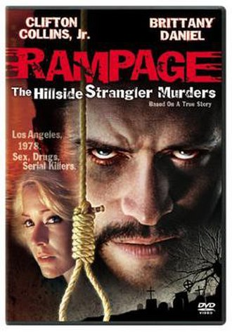 Rampage: The Hillside Strangler Murders - DVD cover