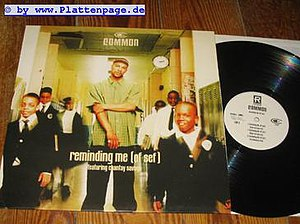 "Reminding Me (Of Sef) - ""Reminding Me (Of Sef)"" international version single cover and vinyl record"