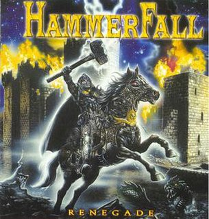 <i>Renegade</i> (HammerFall album) 2000 studio album by HammerFall