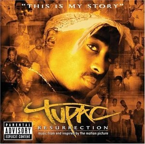Tupac: Resurrection (soundtrack) - Image: Resurrectioncoverfro nt