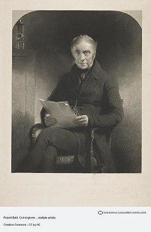 Robert Bald - Robert Bald, painted by Sir John Watson Gordon