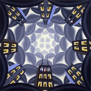 Roger Brown (artist) - Rising Above it All, 1978