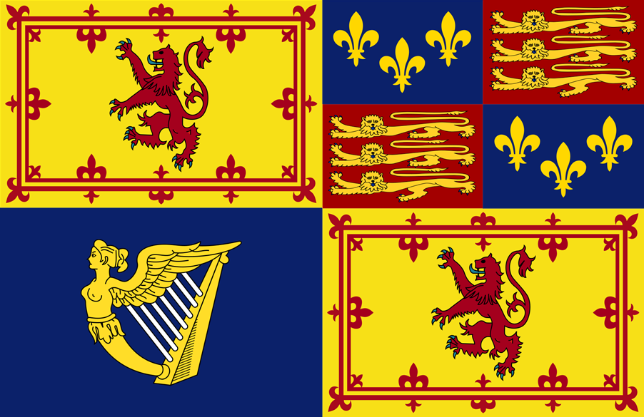 Royal Standard of Great Britain in Scotland (1603-1649)