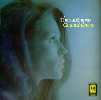 Guantanamera (The Sandpipers album) - Image: Sandpipers Guantanamera UK Cover
