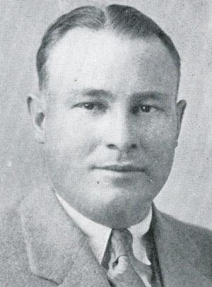 John S. Davis - Davis pictured in the 1928 Ottawa University yearbook