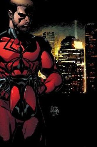 Kaine Parker - Image: Scarlet Spider Volume 2 Number 24 unlettered cover