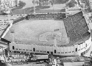 Seals Stadium - Image: Seals Stadium aerial