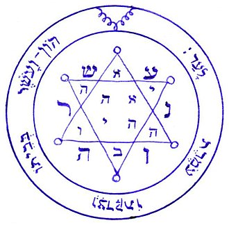 Pentacle - Image: Second Pentacle of Jupiter