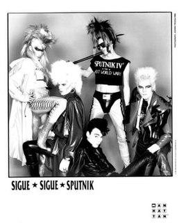 Sigue Sigue Sputnik band that plays new wave music