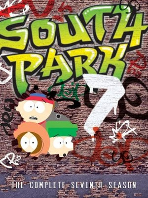 South Park (season 7) - DVD cover
