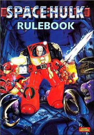 Space Hulk - Second edition rulebook cover