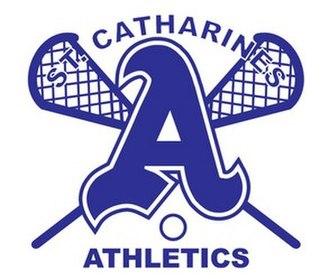 St. Catharines Athletics Jr. A - Image: Srlacrosse logo