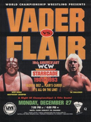 Starrcade (1993) - Promotional Poster Featuring Vader and Ric Flair