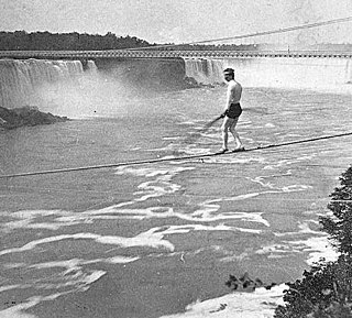 American tightrope walker