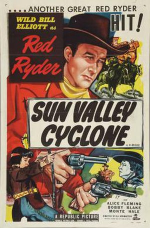 Sun Valley Cyclone - Theatrical release poster