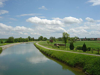 Sundgau - Rhône to Rhine canal at Retzwiller
