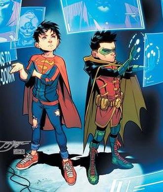 Super-Sons - Image: Super Sons Jon Damian