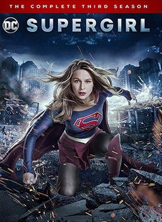 Supergirl (season 3) - Home media cover