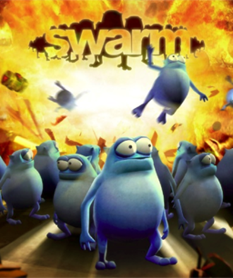Swarm (2011 video game) - Cover art