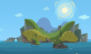 Total Drama All-Stars and Pahkitew Island - A brand new island is used again for this season. This is the first new main location in the series since Total Drama Action.