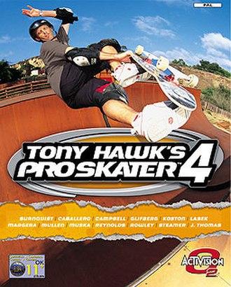 Tony Hawk's Pro Skater 4 - Image: THPS4