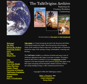 TalkOrigins screenshot.png