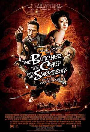 The Butcher, the Chef and the Swordsman - Toronto International Film Festival poster for the film