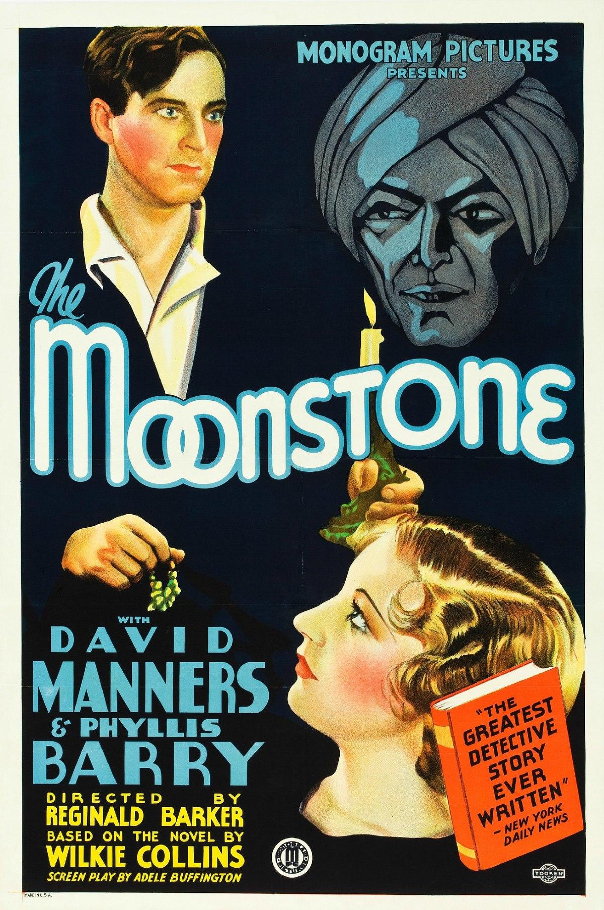the moonstone  1934 film