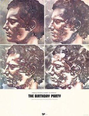 The Birthday Party (film) - Theatrical release poster