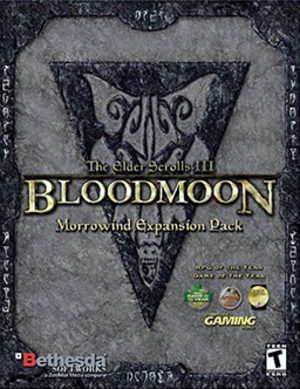 The Elder Scrolls III: Bloodmoon - Image: The Elder Scrolls III Bloodmoon Coverart