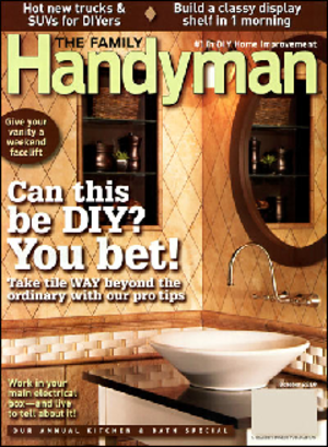 The Family Handyman - Image: The Family Handyman October 2010