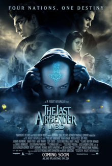 the last airbender  official poster